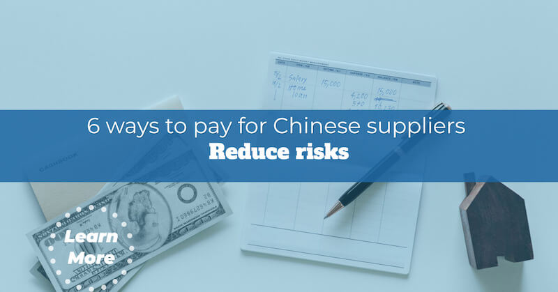 pay for china supplier